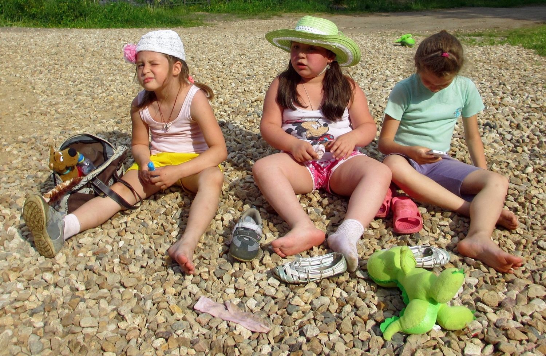 Нудисты Отдыхают С Детьми